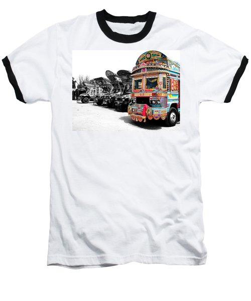 Indian Truck Baseball T-Shirt