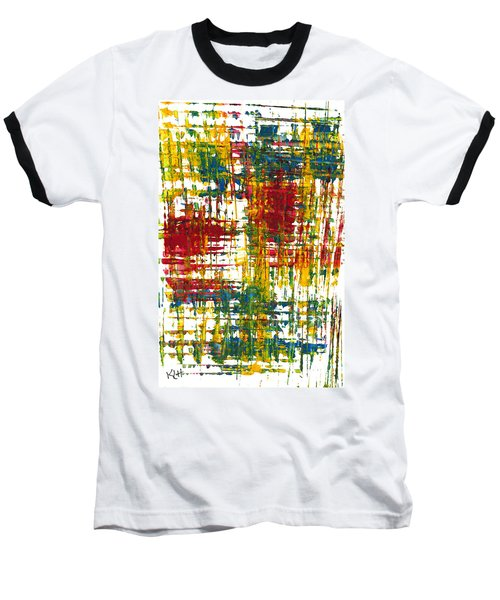 Baseball T-Shirt featuring the painting Inside My Garden 161.110411 by Kris Haas