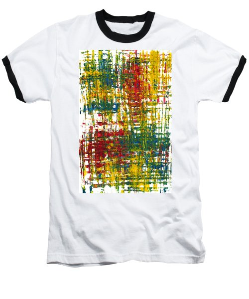 Baseball T-Shirt featuring the painting Inside My Garden II 162.110411  by Kris Haas