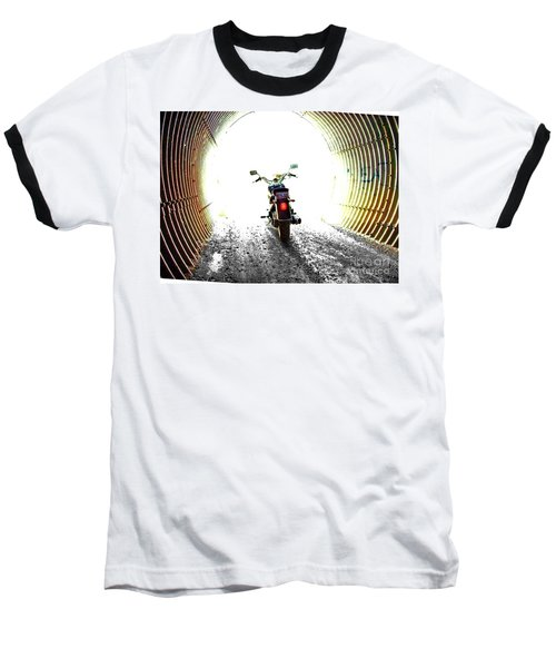 Baseball T-Shirt featuring the photograph Into The Light by Blair Stuart