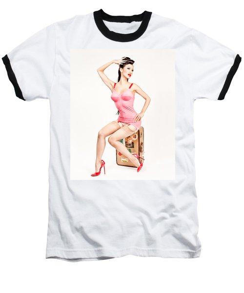 Jade Vixen Bubblegum 1076 Baseball T-Shirt