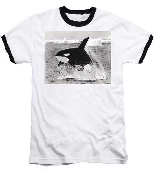 Killer Whale Baseball T-Shirt