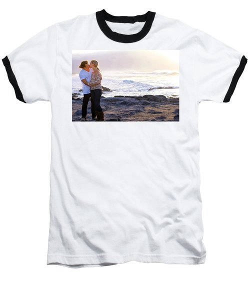 Kissed By The Ocean Baseball T-Shirt