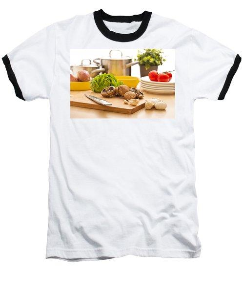 Kitchen Still Life Preparation For Cooking Baseball T-Shirt