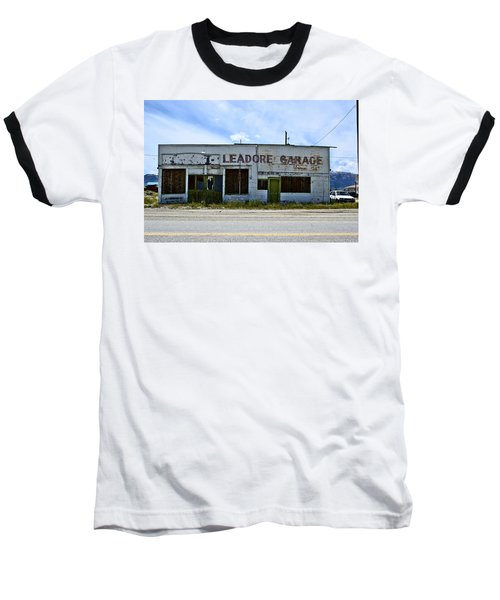 Leadore Garage Baseball T-Shirt