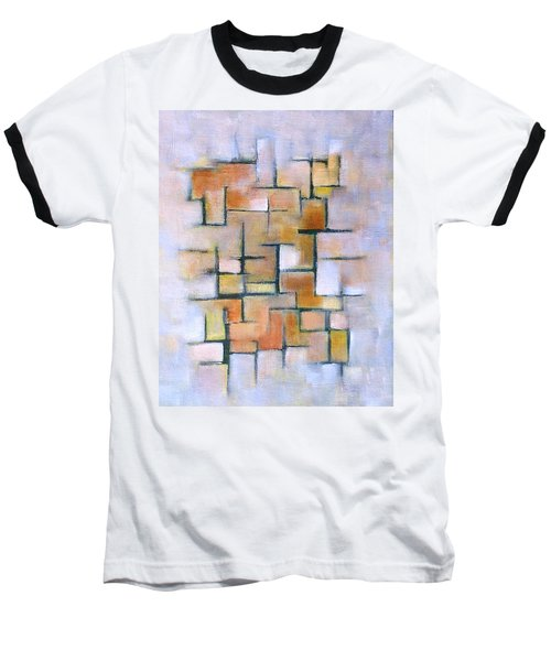Line Series Baseball T-Shirt by Patricia Cleasby