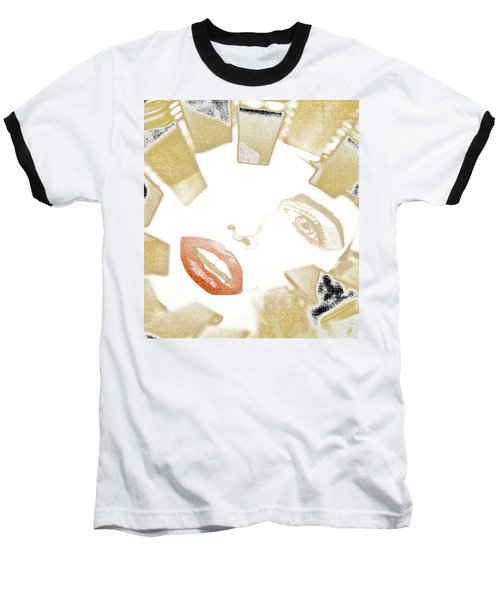 Marilyn Baseball T-Shirt