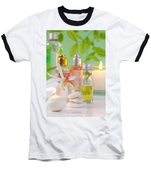 Massage Spa Concepts Baseball T-Shirt by Atiketta Sangasaeng