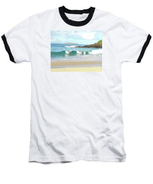 Maui Hawaii Beach Baseball T-Shirt by Rebecca Margraf