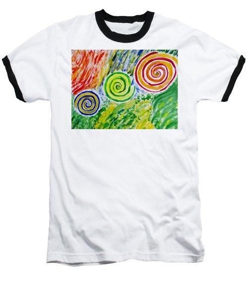 Baseball T-Shirt featuring the painting Meditation by Sonali Gangane