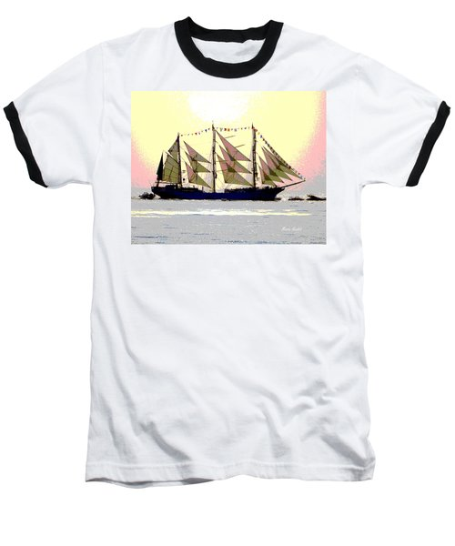 Mystical Voyage Baseball T-Shirt