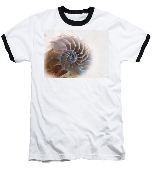 Natural Spiral Baseball T-Shirt