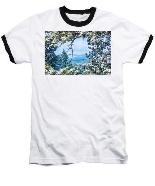 Baseball T-Shirt featuring the photograph Natural Wreath by Shannon Harrington