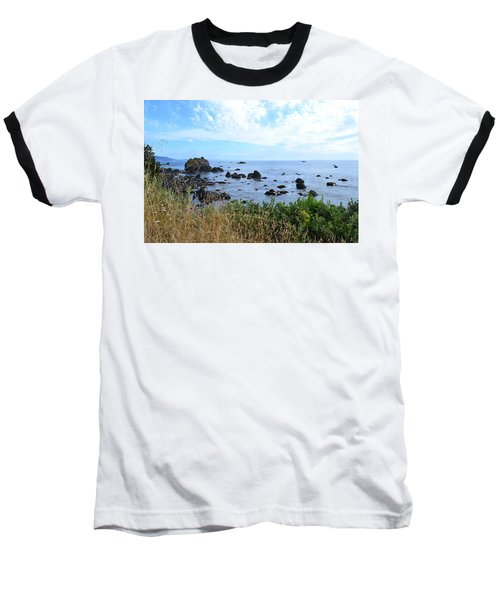 Northern California Coast2 Baseball T-Shirt by Zawhaus Photography