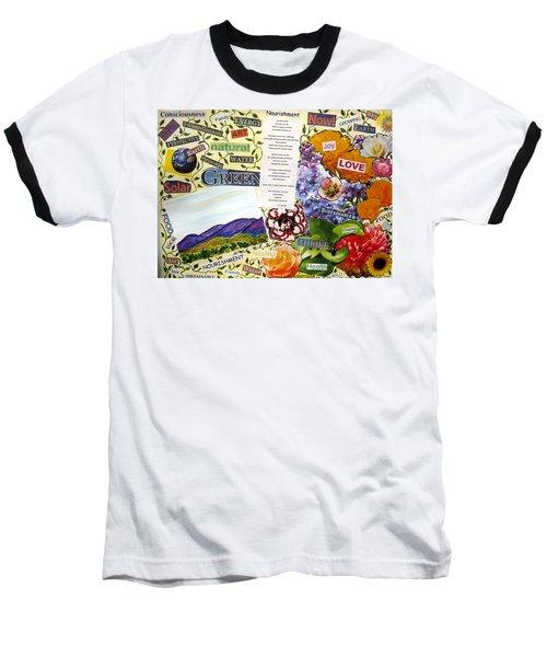 Nourishment Baseball T-Shirt