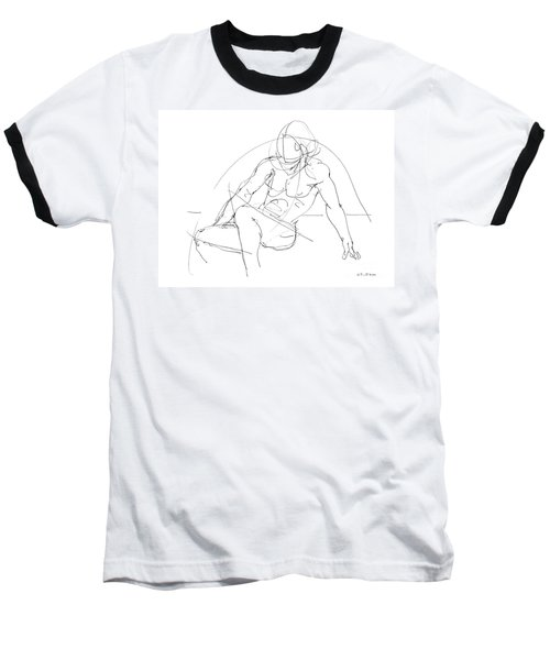 Nude-male-drawings-13 Baseball T-Shirt