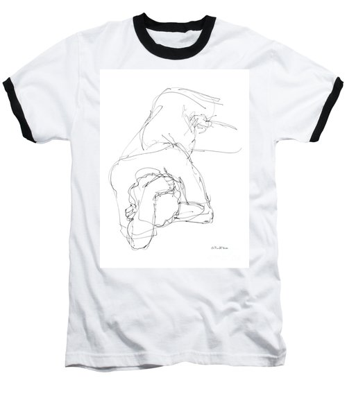 Nude Male Drawings 7 Baseball T-Shirt