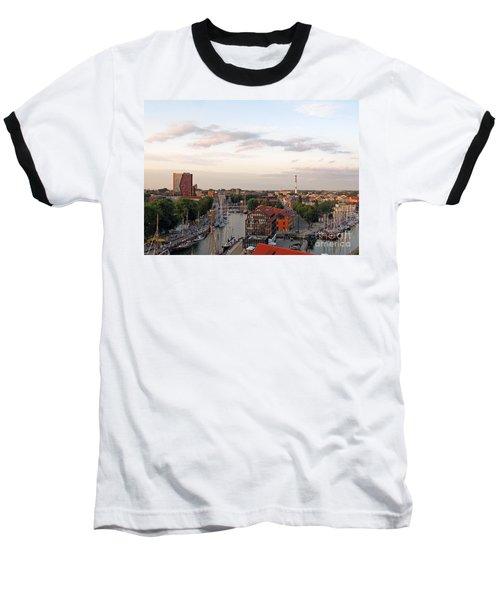 Old Town Klaipeda. Lithuania. Baseball T-Shirt by Ausra Huntington nee Paulauskaite