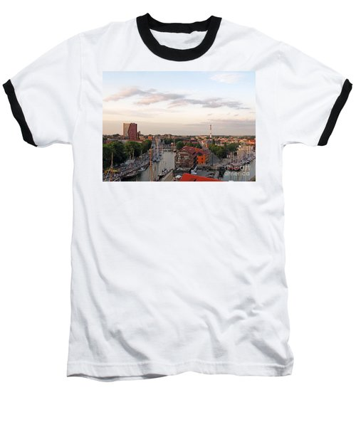 Old Town Klaipeda. Lithuania. Baseball T-Shirt