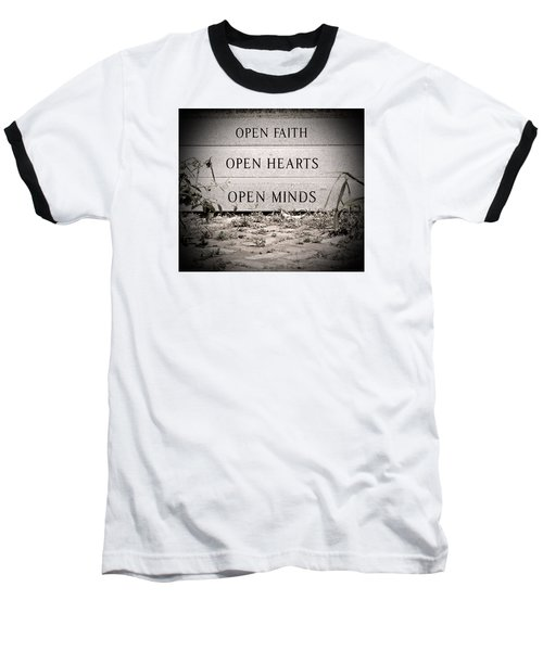 Baseball T-Shirt featuring the photograph Openings by Jean Haynes