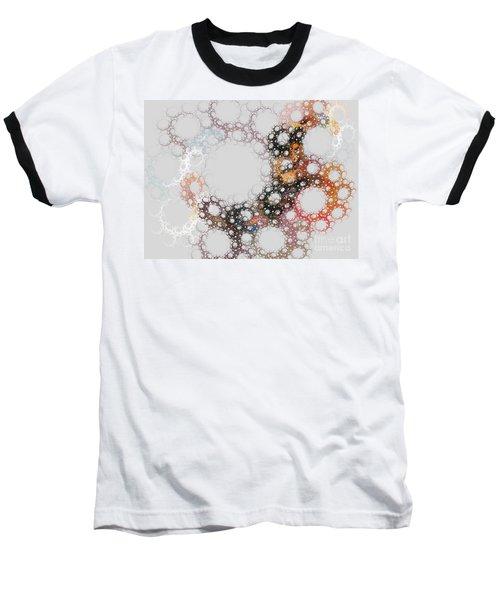 Baseball T-Shirt featuring the digital art Orbital by Kim Sy Ok