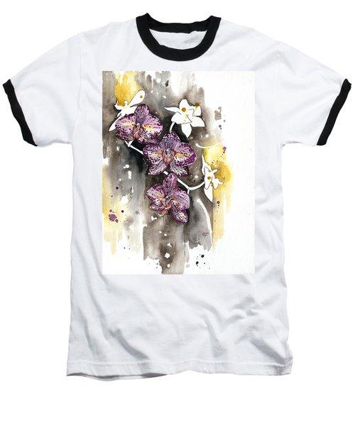 Orchid 13 Elena Yakubovich Baseball T-Shirt