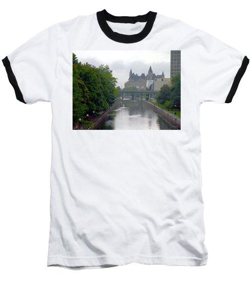 Ottawa Rideau Canal Baseball T-Shirt by Valentino Visentini