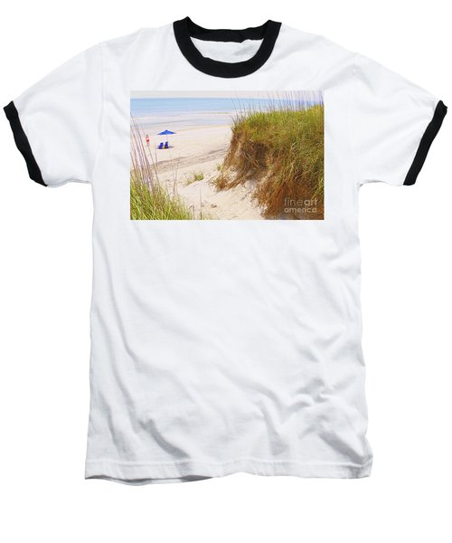 Baseball T-Shirt featuring the photograph Outerbanks by Lydia Holly