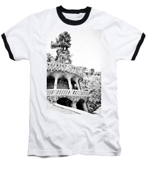 Park Guell Twists Baseball T-Shirt