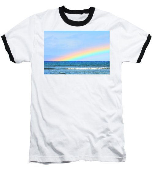Pastel Rainbow Baseball T-Shirt
