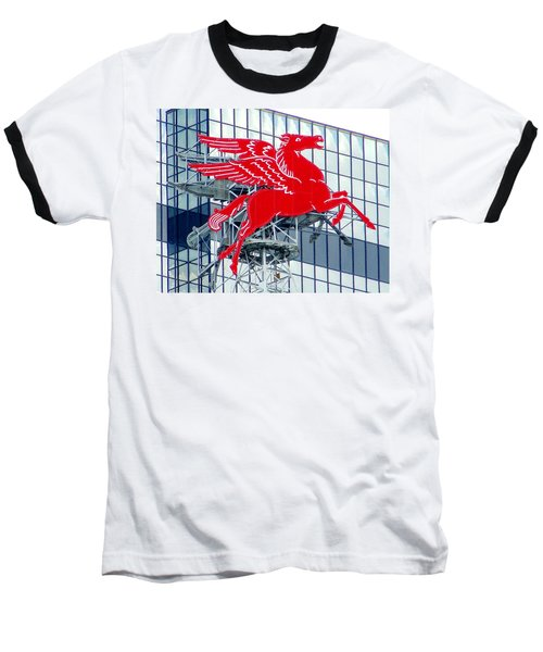 Pegasus Baseball T-Shirt by Charlie and Norma Brock