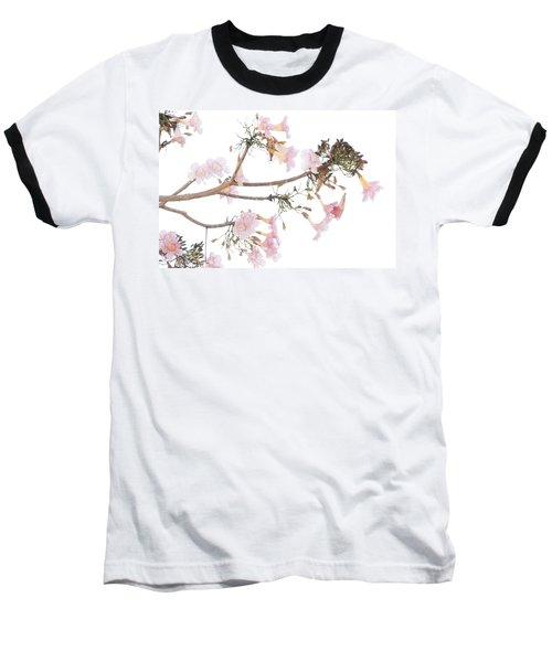 Pink Blossoms In Panama Baseball T-Shirt