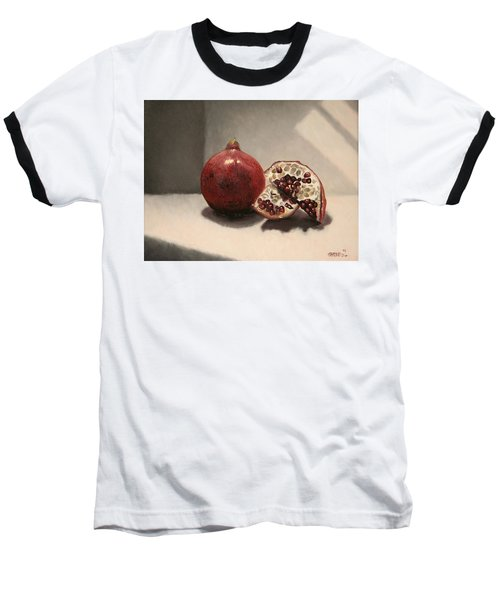 Pomegranate Baseball T-Shirt