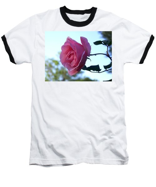 Baseball T-Shirt featuring the photograph Reaching For Sunlight by Kathy  White