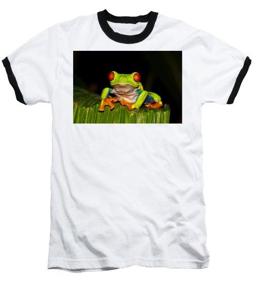 Red Eyes 1 Baseball T-Shirt