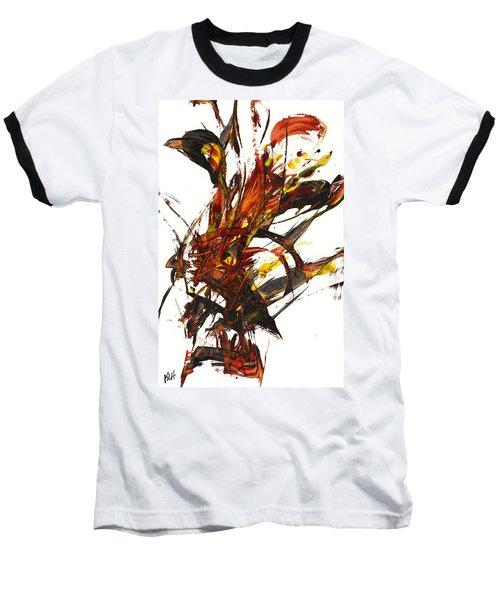 Red Flame II 65.121410 Baseball T-Shirt