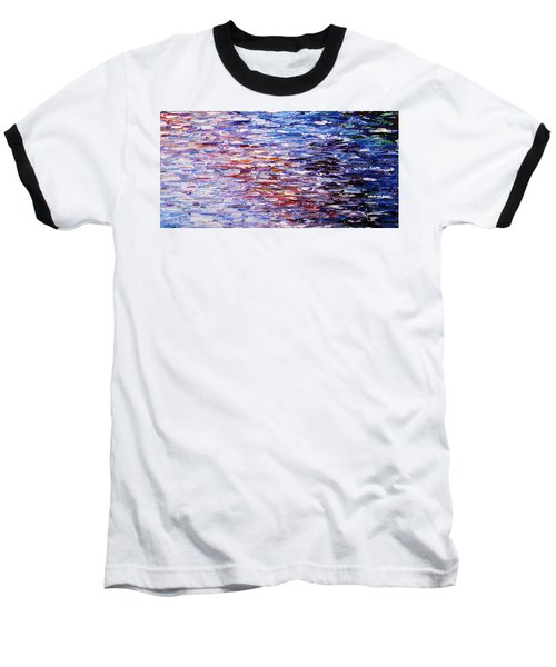 Baseball T-Shirt featuring the painting Reflections by Kume Bryant