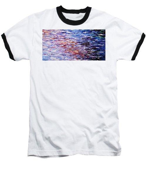 Reflections Baseball T-Shirt by Kume Bryant
