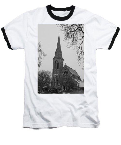 Baseball T-Shirt featuring the photograph Richmond Village Church by Maj Seda