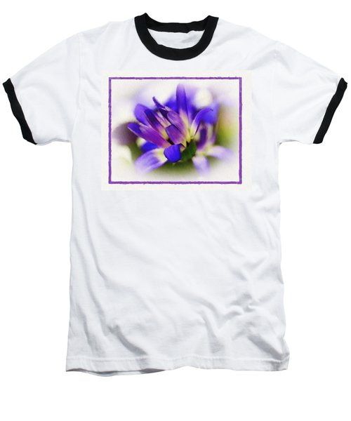 Baseball T-Shirt featuring the photograph Royal Purple by Judi Bagwell