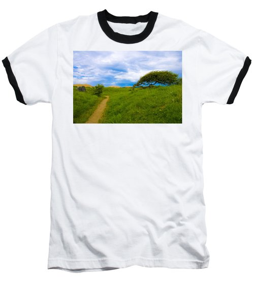 Rubjerg Path Baseball T-Shirt