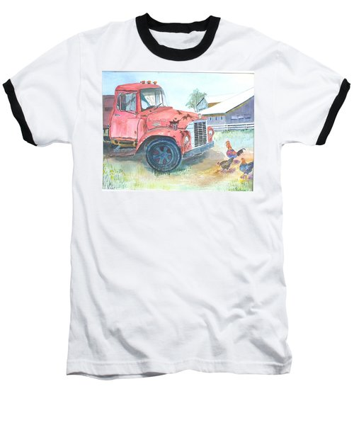 Rusty Truck Baseball T-Shirt