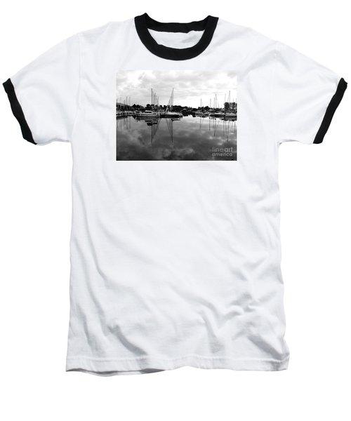 Sailboats At Bluffers Marina Toronto Baseball T-Shirt