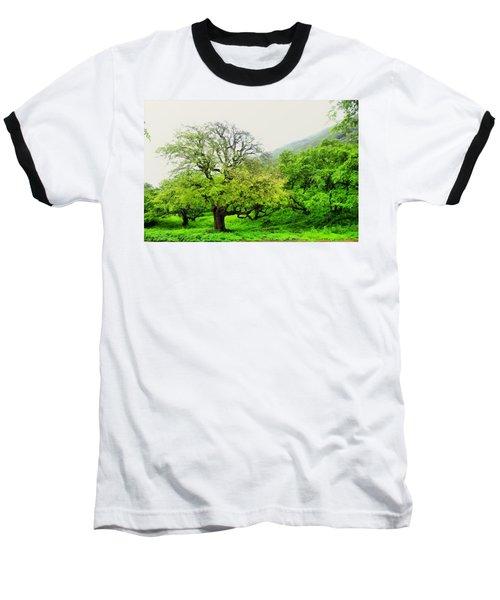 Salalah Green Baseball T-Shirt