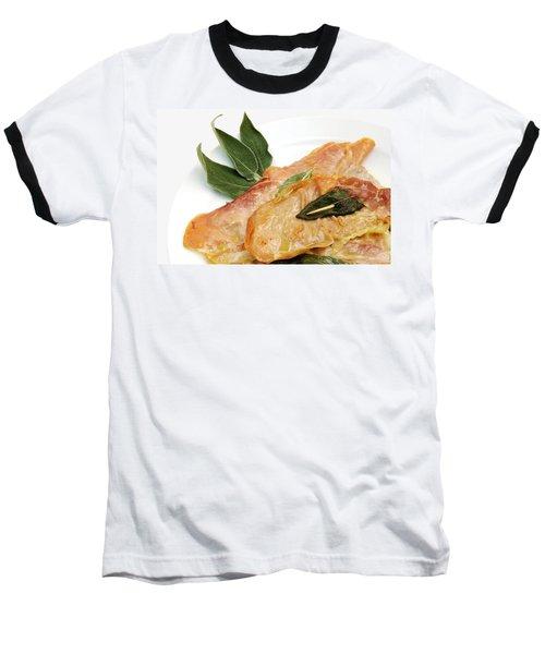 Saltinbocca Alla Romana Baseball T-Shirt