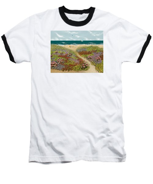 Sand Path Baseball T-Shirt