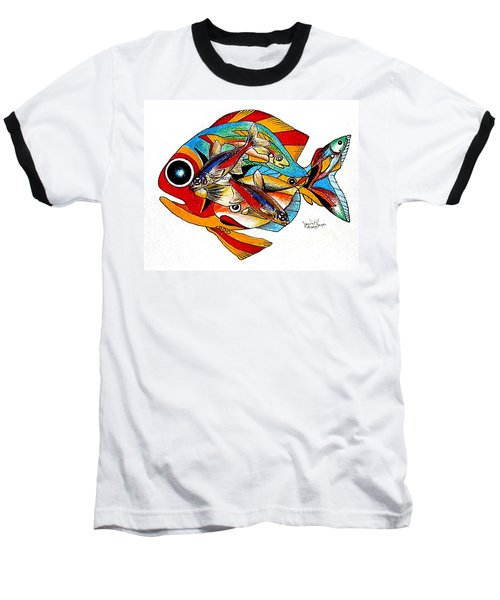 Seven Fish Baseball T-Shirt