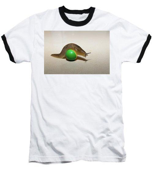 Slug On The Ball Baseball T-Shirt