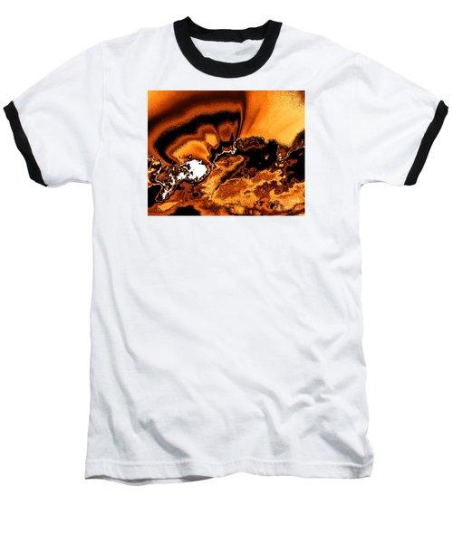 Solar Flare Baseball T-Shirt by Rebecca Margraf