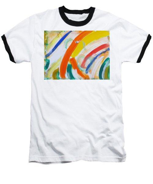 Baseball T-Shirt featuring the painting Souls by Sonali Gangane